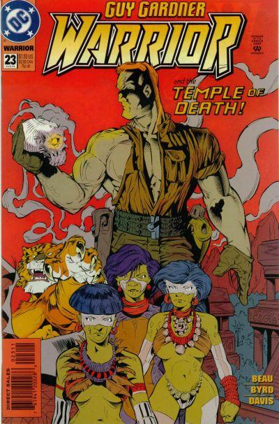 Cover for Guy Gardner: Warrior (DC, 1994 series) #23