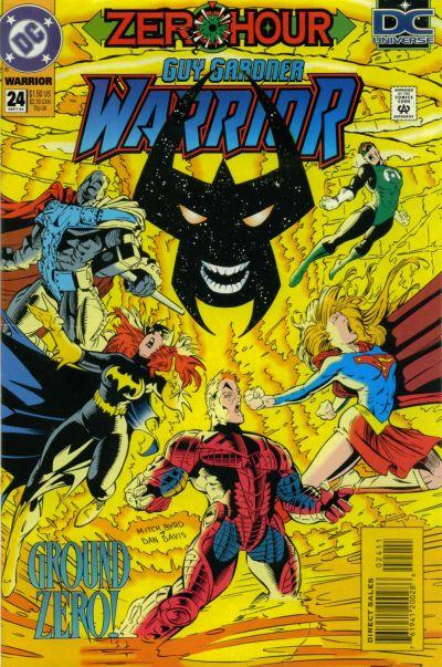Cover for Guy Gardner: Warrior (DC, 1994 series) #24