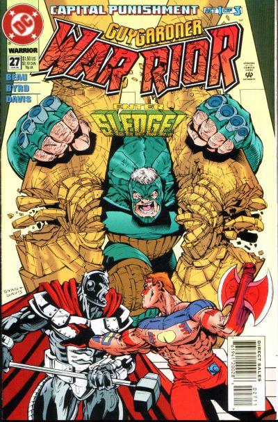 Cover for Guy Gardner: Warrior (DC, 1994 series) #27