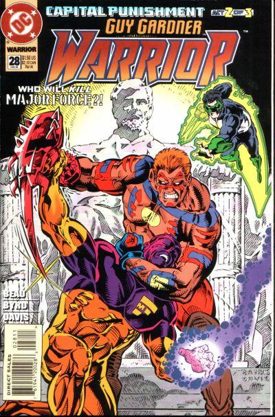 Cover for Guy Gardner: Warrior (DC, 1994 series) #28
