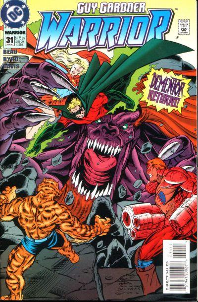 Cover for Guy Gardner: Warrior (DC, 1994 series) #31