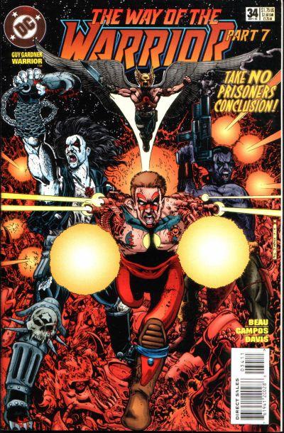 Cover for Guy Gardner: Warrior (DC, 1994 series) #34
