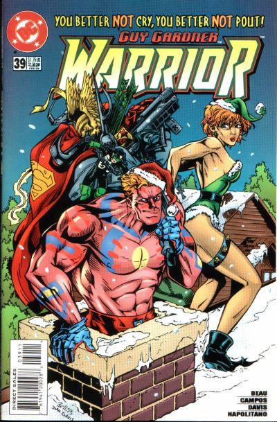 Cover for Guy Gardner: Warrior (DC, 1994 series) #39