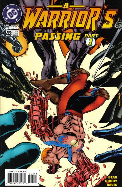 Cover for Guy Gardner: Warrior (DC, 1994 series) #43