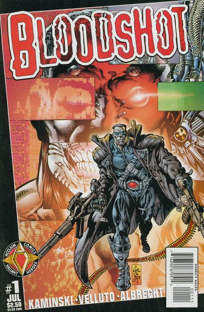Cover for Bloodshot (Acclaim / Valiant, 1997 series) #1 [Regular Cover]