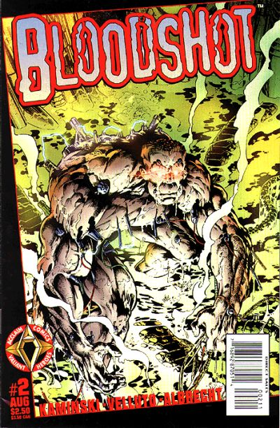 Cover for Bloodshot (Acclaim / Valiant, 1997 series) #2