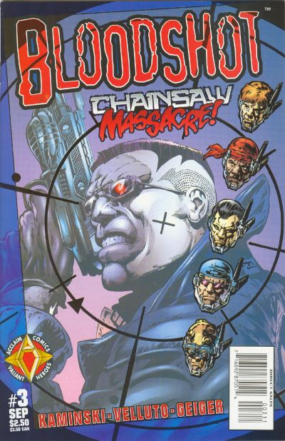 Cover for Bloodshot (Acclaim / Valiant, 1997 series) #3