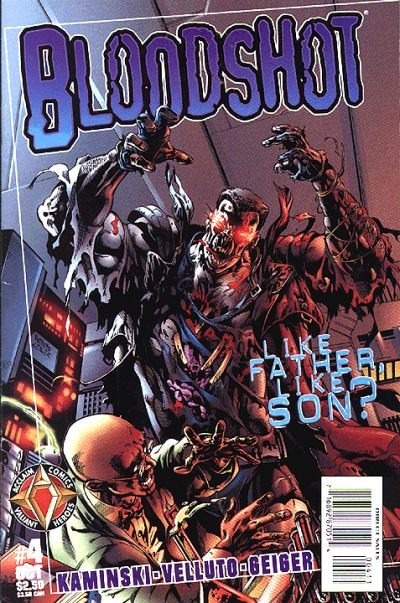 Cover for Bloodshot (Acclaim / Valiant, 1997 series) #4