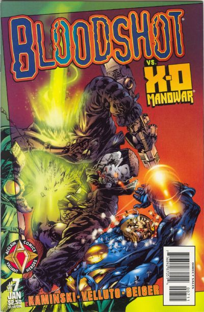 Cover for Bloodshot (Acclaim / Valiant, 1997 series) #7