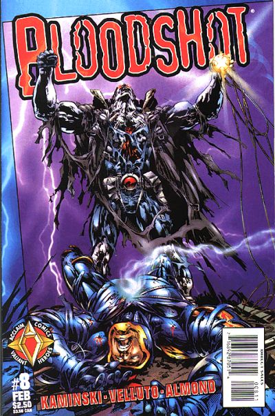 Cover for Bloodshot (Acclaim / Valiant, 1997 series) #8