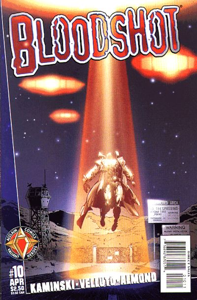 Cover for Bloodshot (Acclaim / Valiant, 1997 series) #10