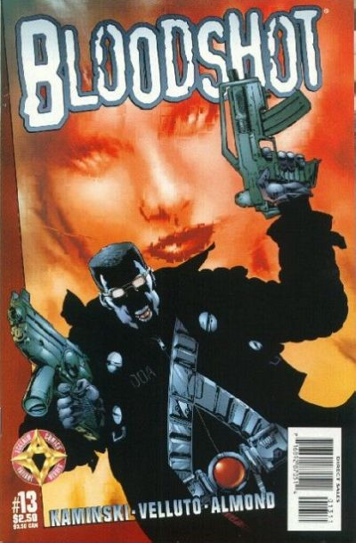 Cover for Bloodshot (Acclaim / Valiant, 1997 series) #13