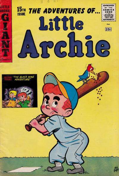 Cover for Little Archie Giant Comics (Archie, 1957 series) #15
