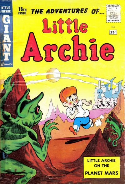 Cover for Little Archie Giant Comics (Archie, 1957 series) #18