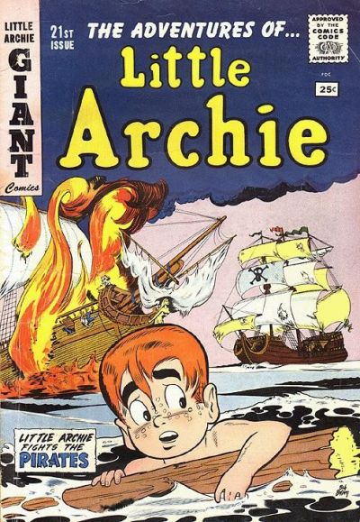 Cover for The Adventures of Little Archie (Archie, 1961 series) #21