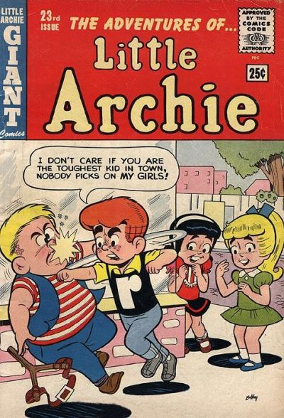 Cover for The Adventures of Little Archie (Archie, 1961 series) #23