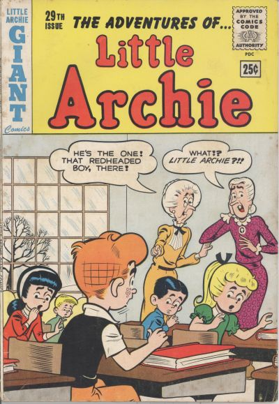 Cover for The Adventures of Little Archie (Archie, 1961 series) #29