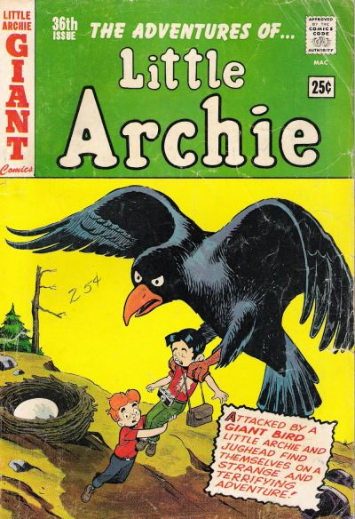 Cover for The Adventures of Little Archie (Archie, 1961 series) #36