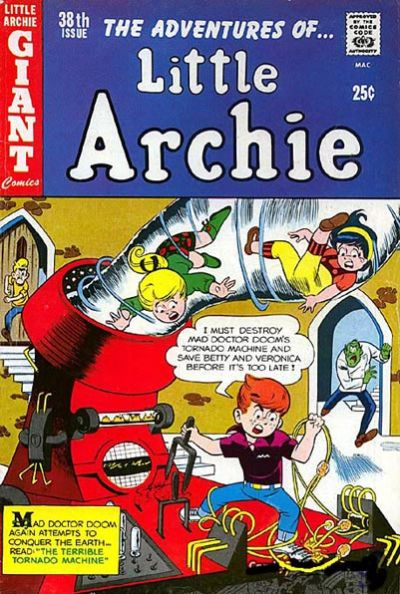 Cover for The Adventures of Little Archie (Archie, 1961 series) #38