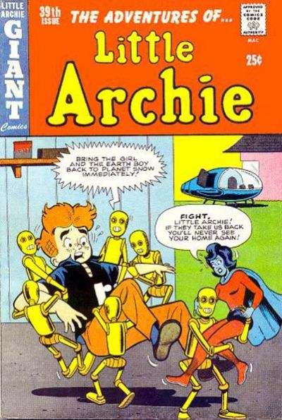 Cover for The Adventures of Little Archie (Archie, 1961 series) #39