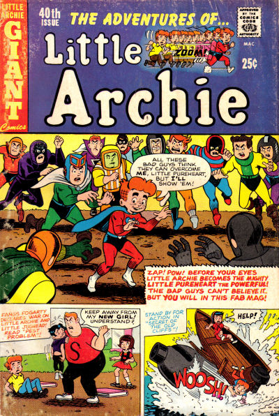 Cover for The Adventures of Little Archie (Archie, 1961 series) #40