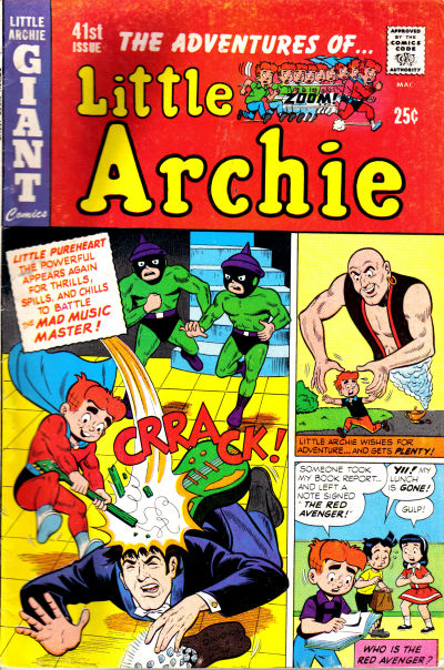 Cover for The Adventures of Little Archie (Archie, 1961 series) #41