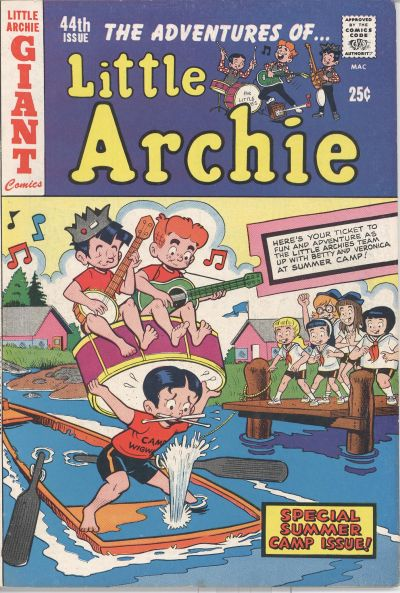 Cover for The Adventures of Little Archie (Archie, 1961 series) #44