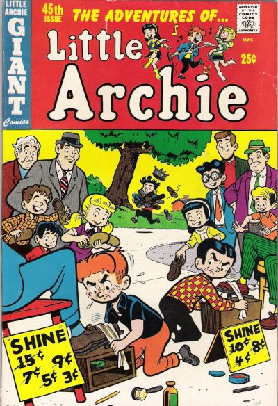 Cover for The Adventures of Little Archie (Archie, 1961 series) #45