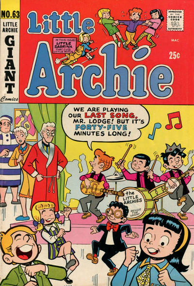 Cover for Little Archie (Archie, 1969 series) #63
