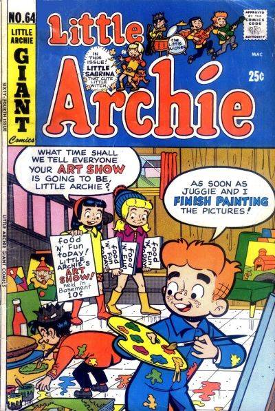 Cover for Little Archie (Archie, 1969 series) #64