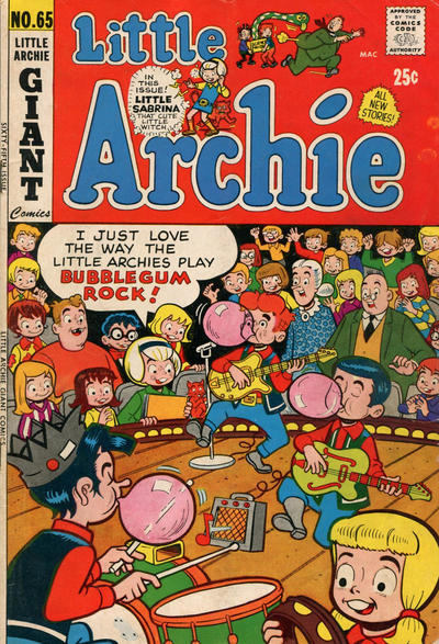 Cover for Little Archie (Archie, 1969 series) #65