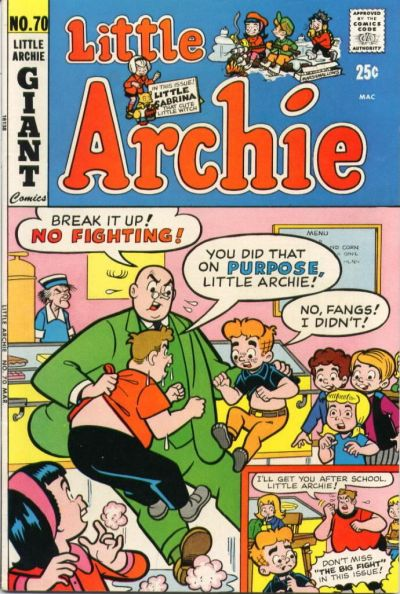 Cover for Little Archie (Archie, 1969 series) #70