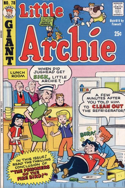 Cover for Little Archie (Archie, 1969 series) #78