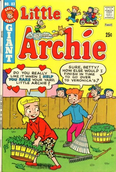 Cover for Little Archie (Archie, 1969 series) #83