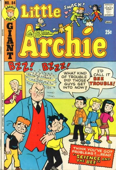 Cover for Little Archie (Archie, 1969 series) #84