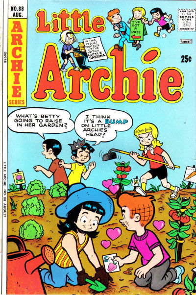 Cover for Little Archie (Archie, 1969 series) #88