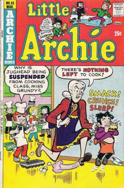 Cover for Little Archie (Archie, 1969 series) #93