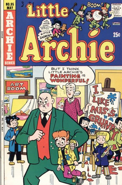 Cover for Little Archie (Archie, 1969 series) #95
