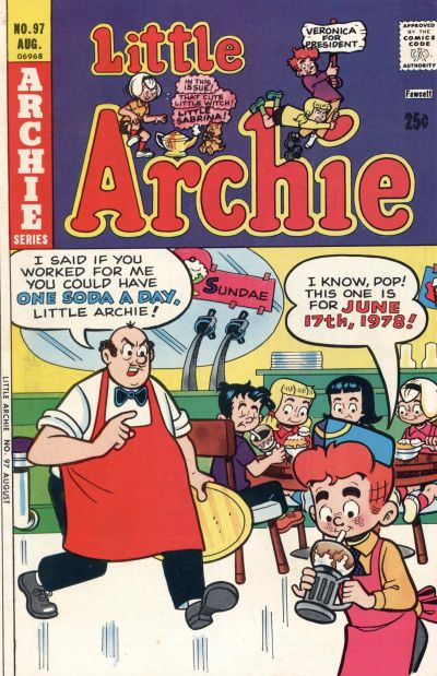 Cover for Little Archie (Archie, 1969 series) #97