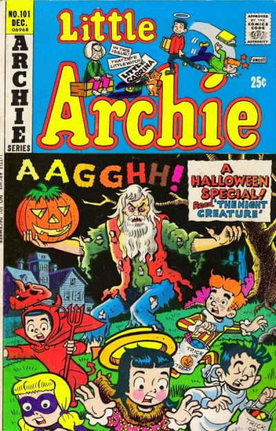 Cover for Little Archie (Archie, 1969 series) #101