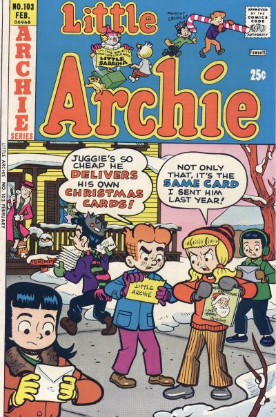 Cover for Little Archie (Archie, 1969 series) #103