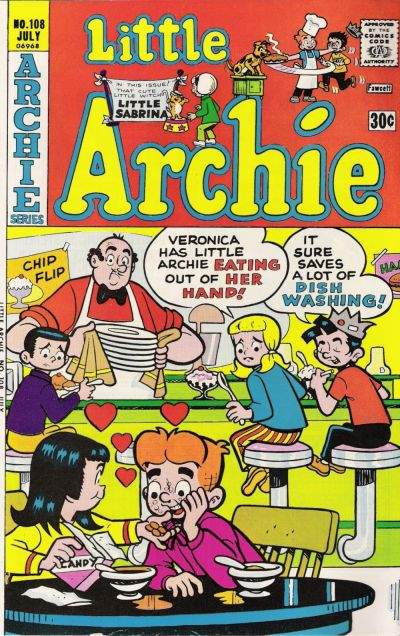 Cover for Little Archie (Archie, 1969 series) #108