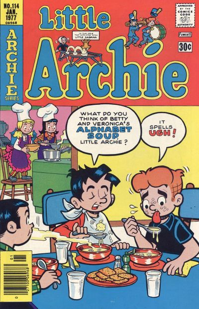 Cover for Little Archie (Archie, 1969 series) #114