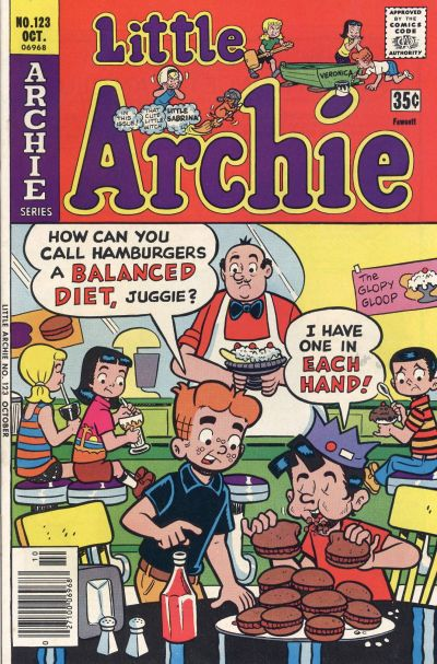 Cover for Little Archie (Archie, 1969 series) #123