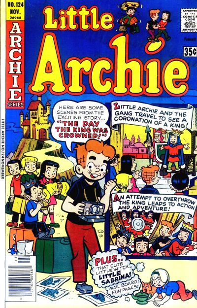 Cover for Little Archie (Archie, 1969 series) #124