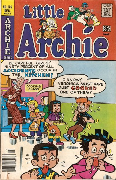 Cover for Little Archie (Archie, 1969 series) #125