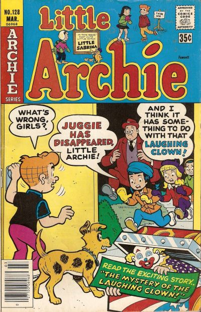 Cover for Little Archie (Archie, 1969 series) #128