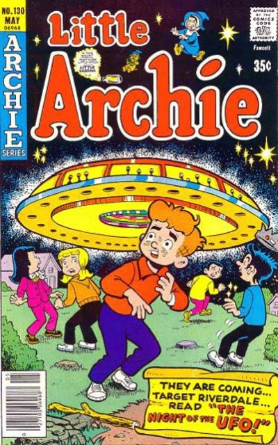 Cover for Little Archie (Archie, 1969 series) #130