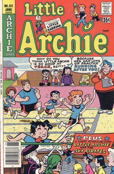 Cover for Little Archie (Archie, 1969 series) #131