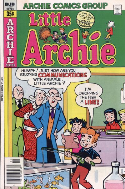 Cover for Little Archie (Archie, 1969 series) #138